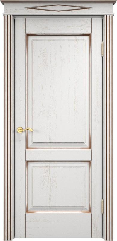 белые дубовые двери