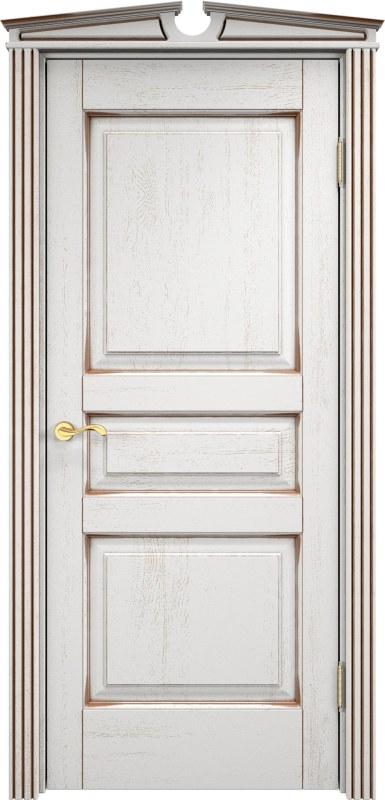 двери Белый грунт патина