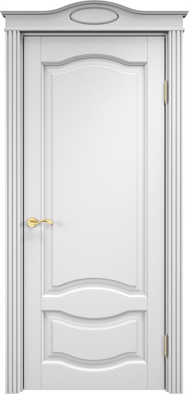 белые двери из ольхи