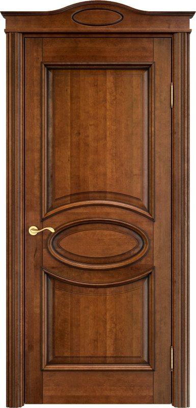 двери из массива ольхи античный орех