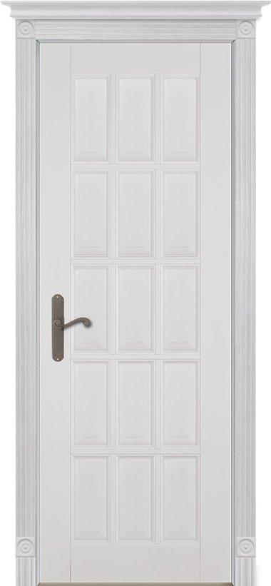 двери Лондон эмаль белая