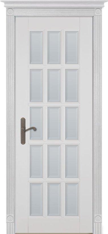 двери ока Лондон эмаль белая